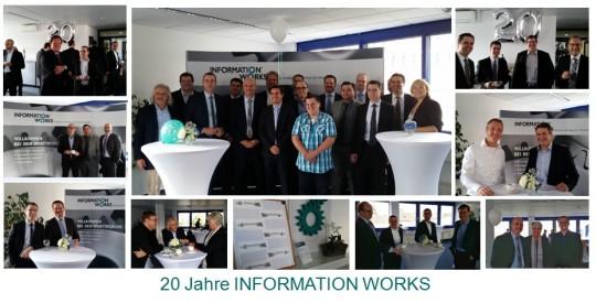 3D-Druck auf dem 20 jährigen Firmenjubiläum der Firma Information Works in Köln