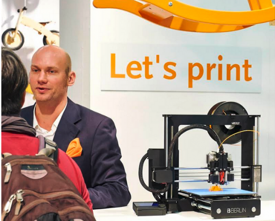 3D-Druck auch auf der Kind + Jugend Messe in Köln