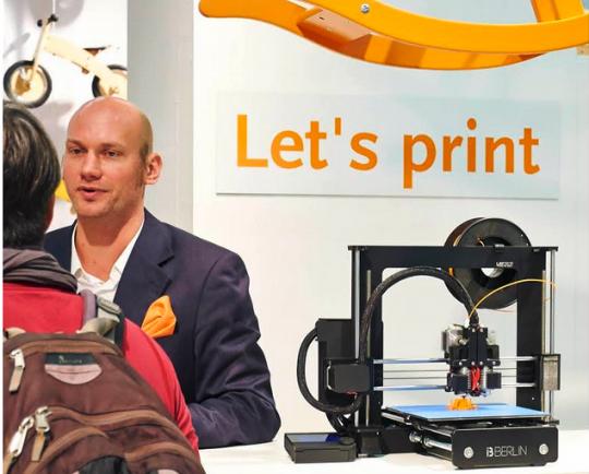 3D-Druck auf der Kind + Jugend Messe in Köln