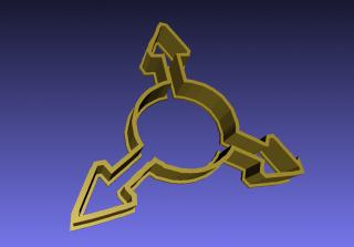 3D-Druck-Kecksausstecher-Ausstechform-Form-Plätzchen