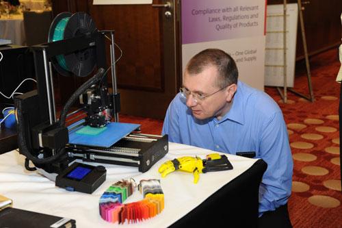 Vortrag für den Pharmakonzern Takeda zum Thema 3D-Druck und die Pharmaindustrie