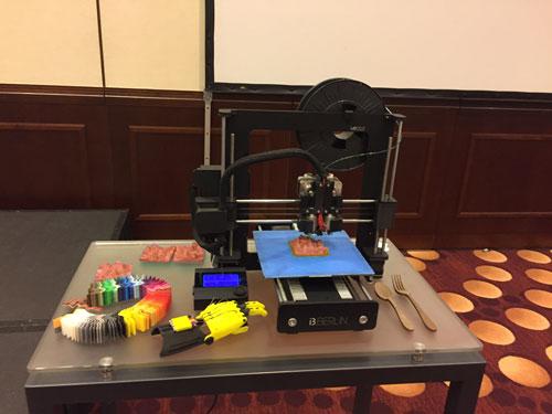 Vortrag für den Pharmakonzern Takeda zum Thema 3D-Druck und der Pharmaindustrie