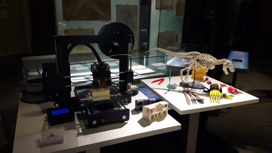 3D Druck für die Bundesregierung im Naturkundemuseum Berlin