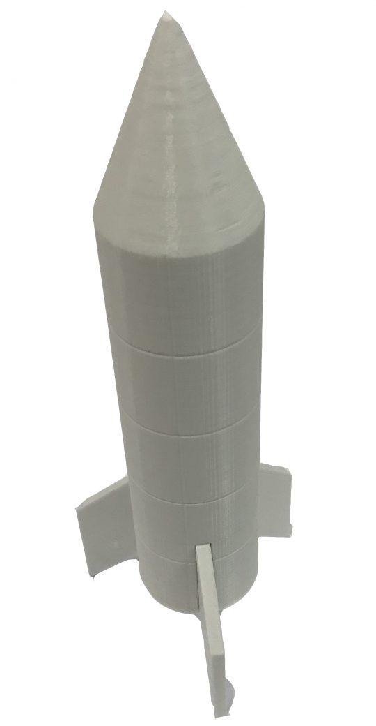 Fertigung von 3D-gedruckten Raketen