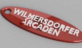 Wilmersdorfer Arcaden Schlüsselanhänger Rendering