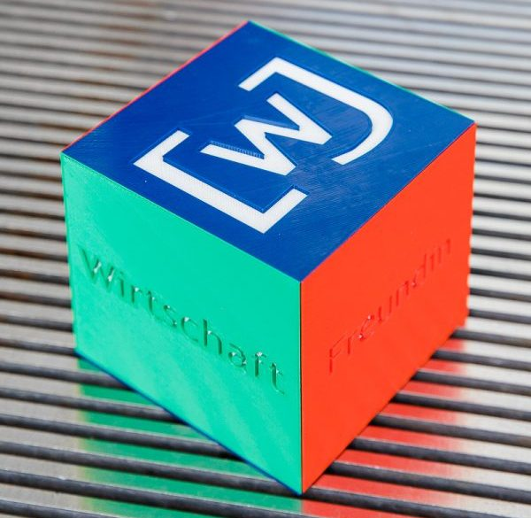 3D-Druck Event Würfel WJD Pokal Award